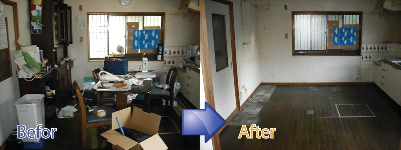 福岡市・北九州市で不用品回収や遺品整理をはじめ特殊清掃までお任せください