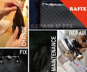 サイフ修理・バック修理・鞄修理などの革製品のリペアはRAFIX